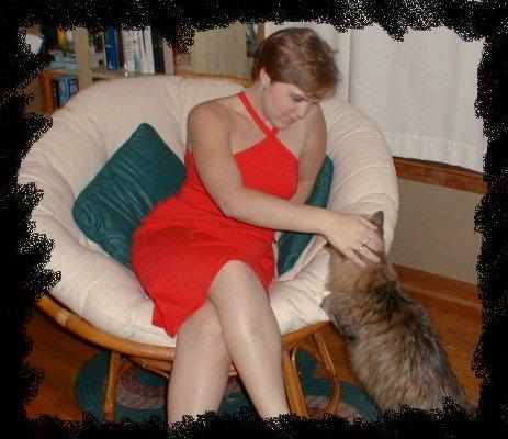 Liz chills with Murrie