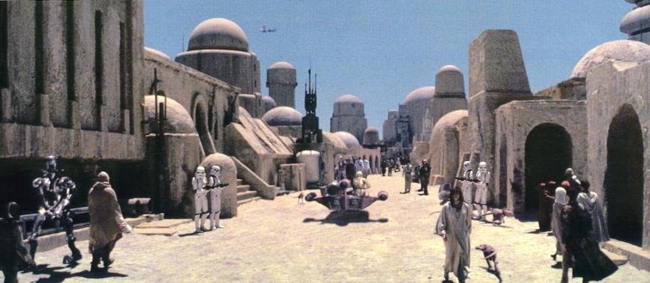 Mos Eisley:  A Wretched Hive of Scum and Villiany
